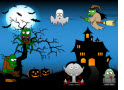 Add Three Numbers Halloween Math Game